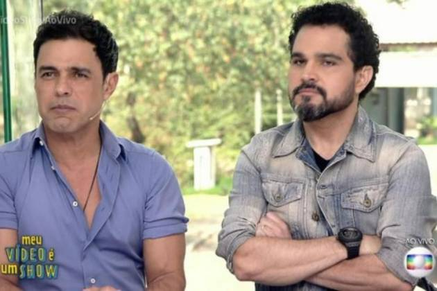 Zezé Di Camargo e Luciano - Reprodução/TV Globo