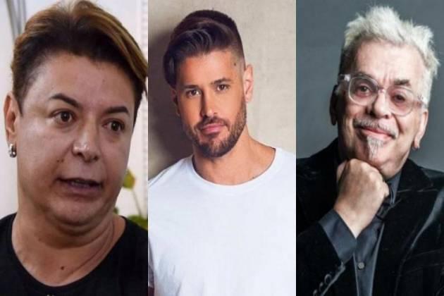 David Brazil, Dado Dolabella e Walcyr Carrasco - Montagem/Área VIP