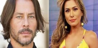 Theo Becker e Lívia Andrade - Montagem/Área VIP