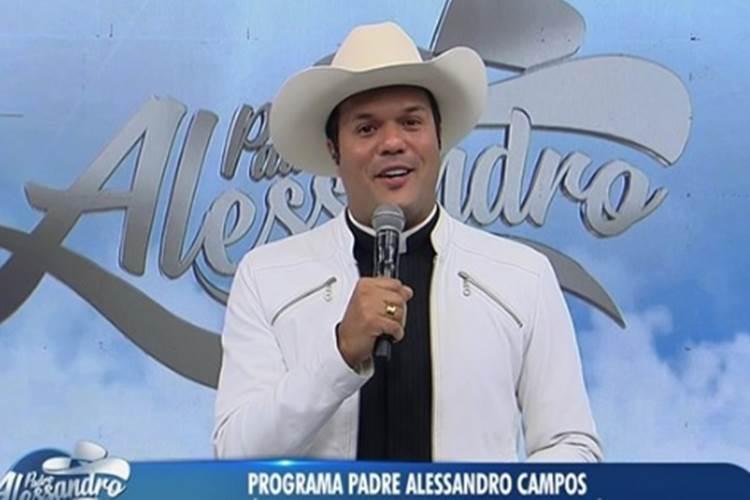 Padre Alessandro Campos tem cobrado 'dízimo' de idosos em programa da RedeTV!