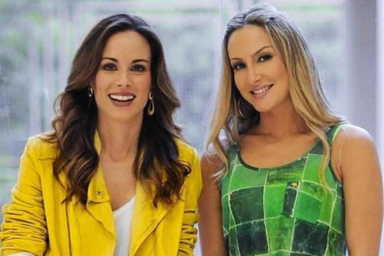 Ana Furtado comemora gravidez de Claudia Leitte