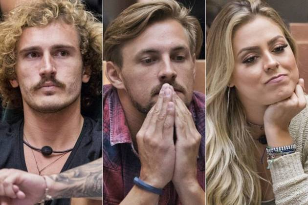 BBB19 - Alan - Diego - Isabella ( Globo/Victor Pollak)