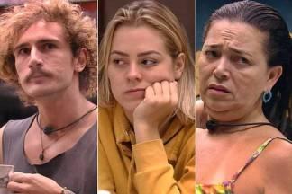 BBB19 - Alan - Isabella - Tereza (Reprodução/TV Globo)