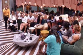 BBB19 - Brothers no sorteio para a Prova do Anjo (Reprodução/TV Globo)