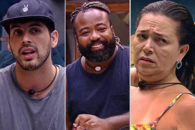 BBB19 - Maycon - Rodrigo - Tereza (Reprodução/TV Globo)