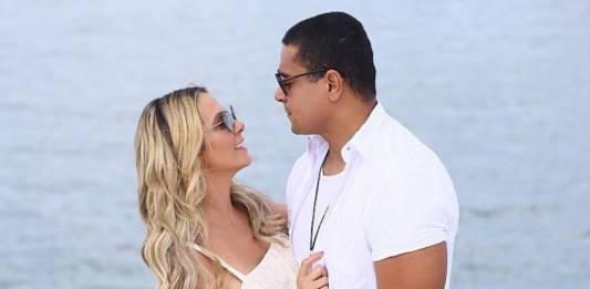 Carla Perez e marido/Reprodução Instagram