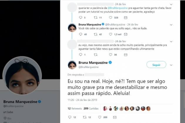 Bruna Marquezine/Reprodução Twitter