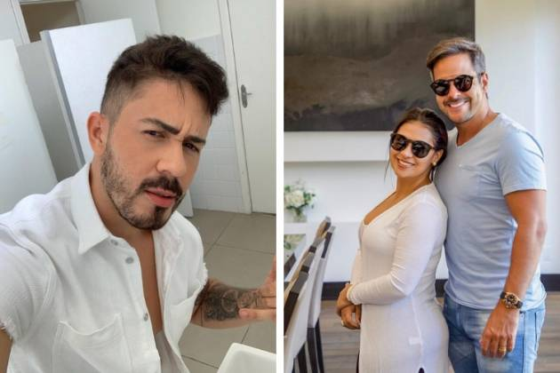 Carlinhos Maia, Kaká e Simone/Reprodução Instagram