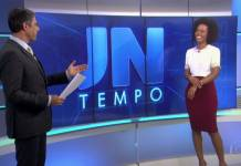 William Bonner e Maju Coutinho/Reprodução TV Globo