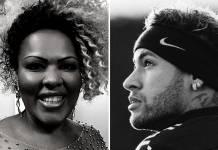 Deise Cipriano e Neymar Jr/Reprodução Instagram