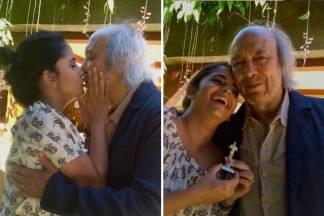 Erasmo Carlos e Fernanda Passos/Reprodução