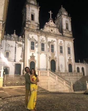 Túlio Gadêlha e Fátima Bernardes - Reprodução/Instagram