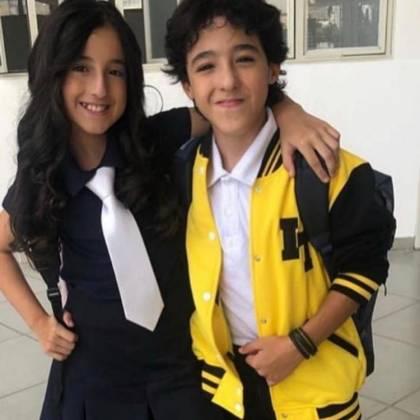Filhos do cantor sertanejo Bruno - Reprodução/Instagram