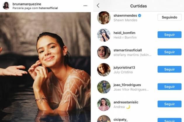 Foto e curtida/Reprodução Instagram