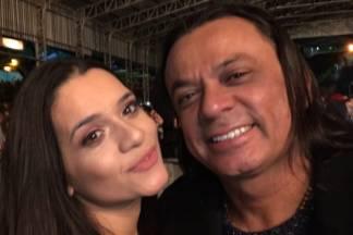 Frank Aguiar e filha/Reprodução Instagram