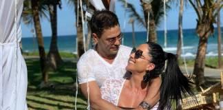 Graciele Lacerda e Zezé di Camargo/Reprodução Instagram