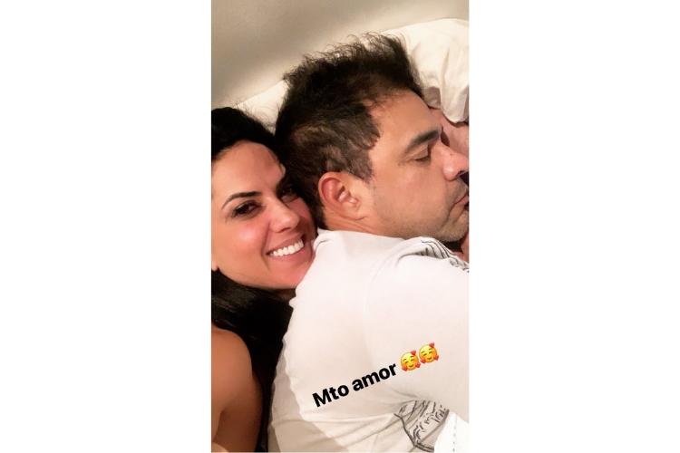 Graciele Lacerda e Zezé/Reprodução Instagram