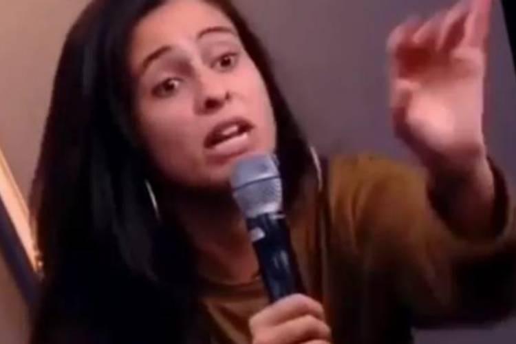 Eliminada, Hana do 'BBB19' bate boca com convidada de programa