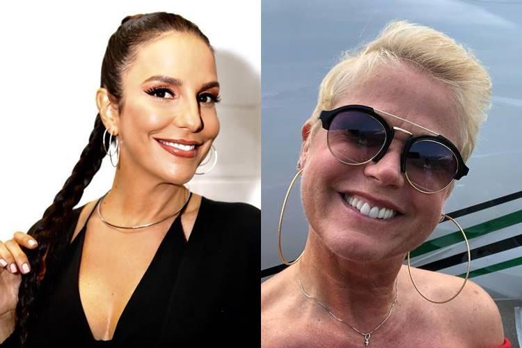 Após rumores de desavenças, Ivete Sangalo faz elogio para Xuxa