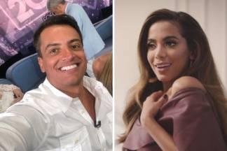 Leo Dias e Anitta/Reprodução Instagram