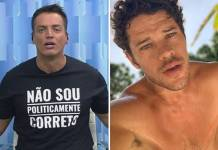 Leo Dias e José Loreto/Reprodução TV Globo