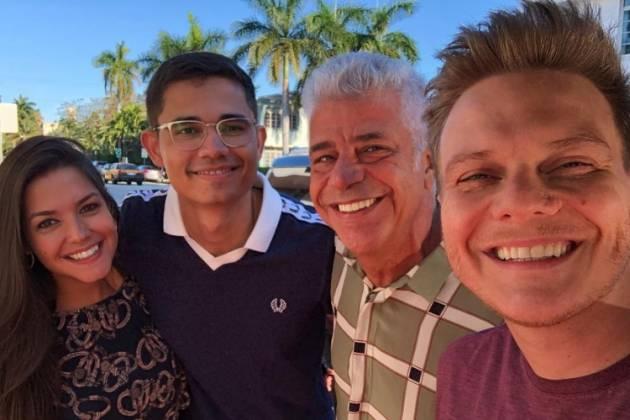 Thais, Clebson, Lulu e Michel/Reprodução Instagram