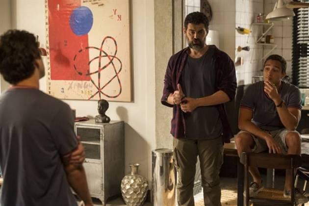 Malhação - Alex decide morar com Rafael (Globo/João Cotta)