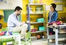 Malhação - Rafael conversa com Alex (Globo/João Miguel Júnior)