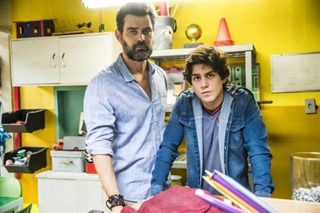 Malhação - Rafael e Alex (Globo/João Miguel Júnior)