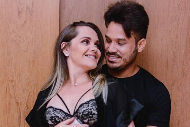 Marcelo e a esposa/Reprodução Instagram