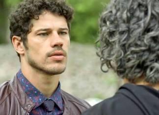 O Sétimo Guardião - Junior e Murilo conversam (Reprodução/TV Globo)