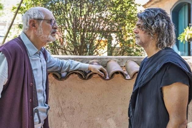 O Sétimo Guardião - Sóstenes e Murilo (Globo/Paulo Belote)