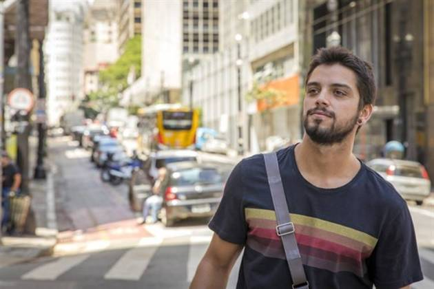 Órfãos da Terra - Bruno (Globo/Paulo Belote)