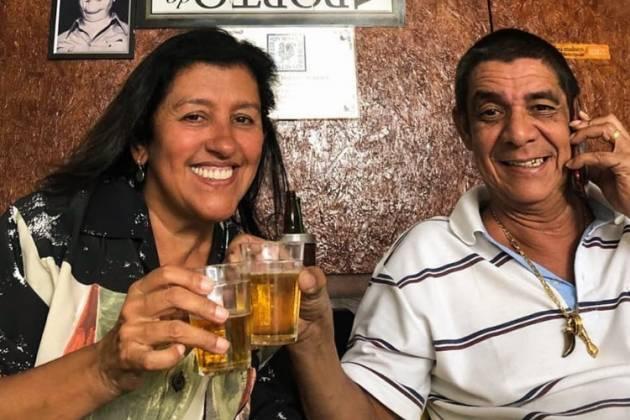 Regina Casé e Zeca Pagodinho/Reprodução