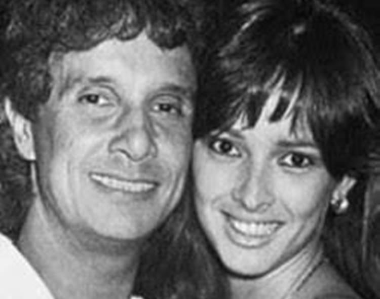 Roberto Carlos e Myrian Rios/Arquivo Pessoal