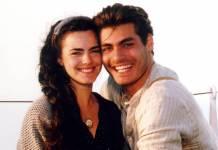 Terra Nostra - Juliana (Ana Paula Arósio) e Mateu (Thiago Lacerda)/ Foto:TV Globo
