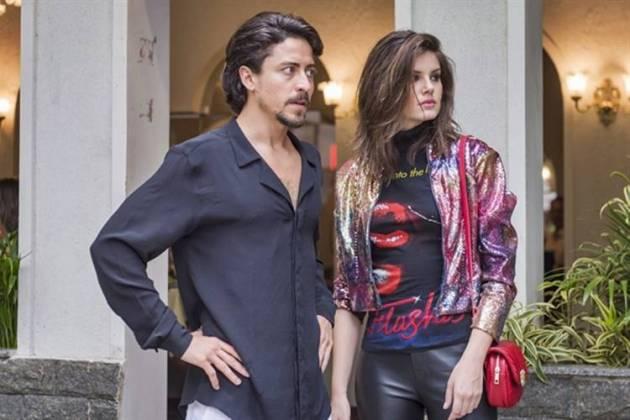 Verão 90 - Jeronimo e Vanessa (Globo/Paulo Belote)