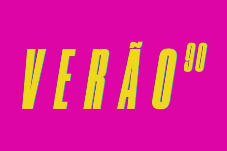 Verão 90 - Logo/Reprodução TV Globo