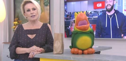 Ana Maria, Louro José e Cauê/Reprodução Globoplay