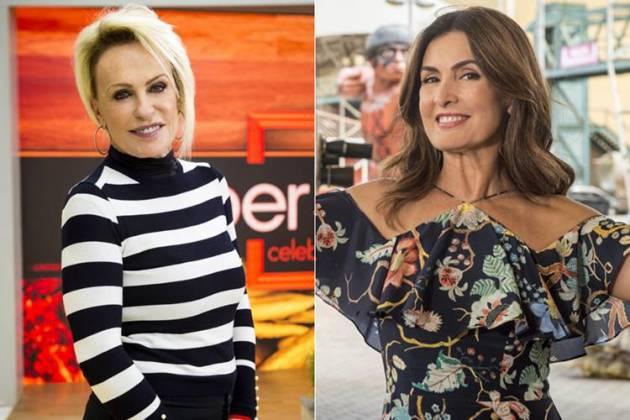 Ana Maria e Fátima Bernardes (Globo/João Cotta)