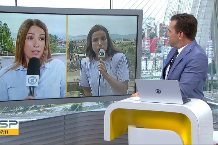 Repórter da Globo se emociona ao retornar em local de acidente depois de 30 anos