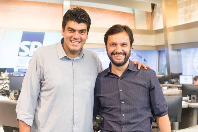André Azeredo e Antonio Guerreiro (Antonio Chahestian/Divulgação Record TV)