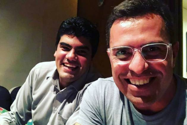 André Azeredo e Bocardi/Reprodução Instagram