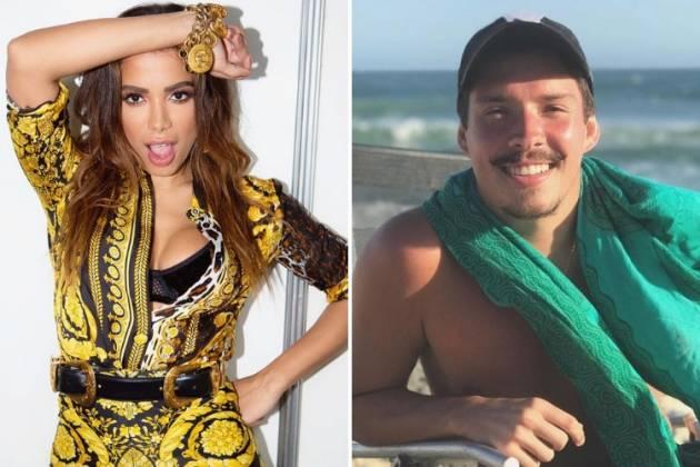 Anitta e Ronan/Reprodução Instagram