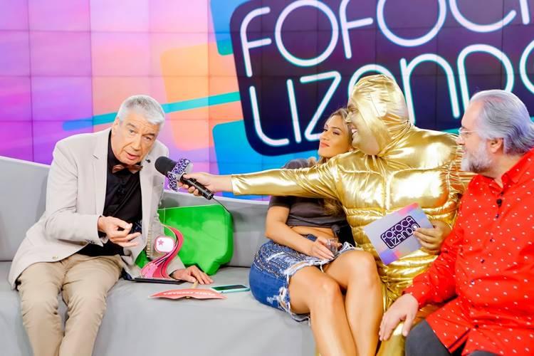 Área VIP no Fofocalizando (Gabriel Cardoso/SBT)