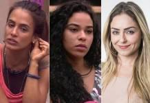 BBB19 - Carolina - Elana - Paula (Reprodução/TV Globo)