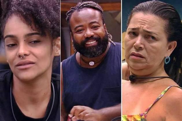 BBB19 - Gabriela - Rodrigo - Tereza (Reprodução/TV Globo)