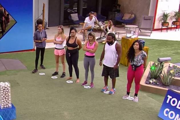 BBB19 - Prova do Anjo (Reprodução/TV Globo)