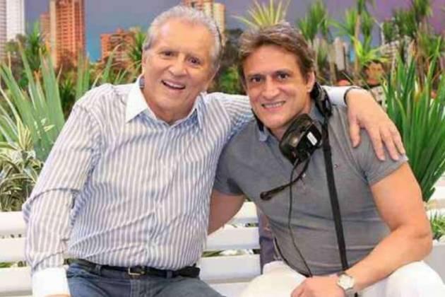 Carlos Alberto de Nóbrega e Marcelo de Nóbrega - Divulgação/SBT