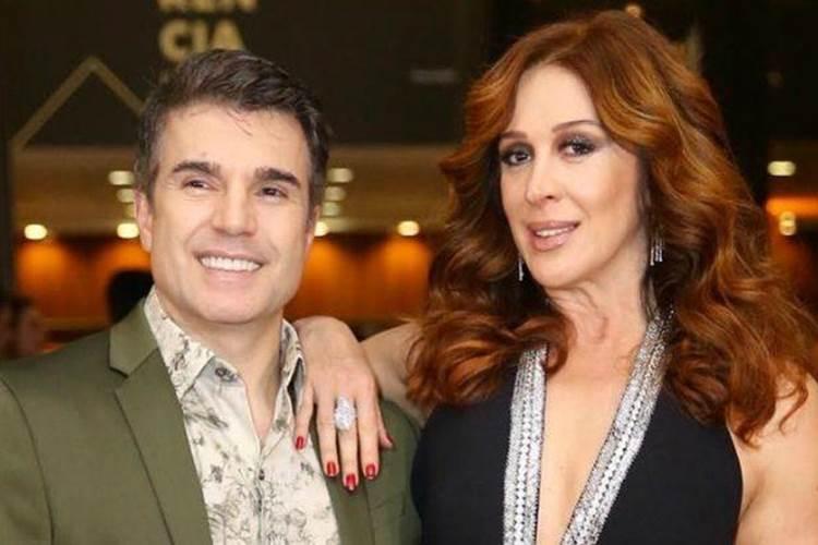 Claudia Raia se declara para o marido em click de carnaval